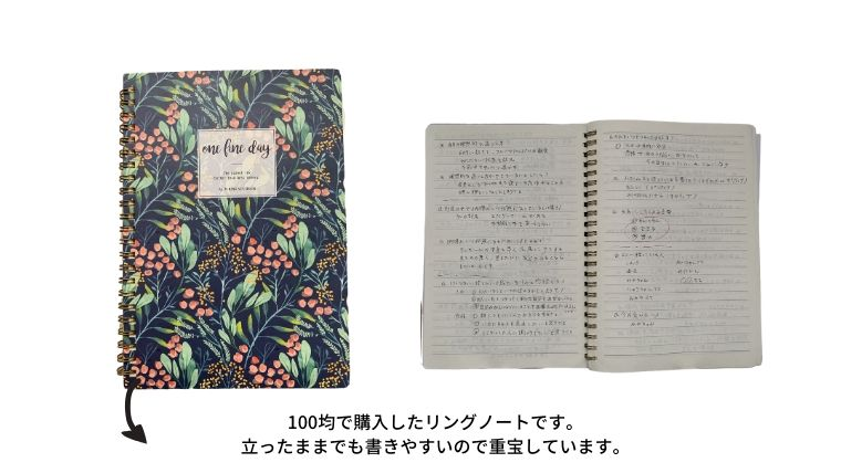 小さなノート