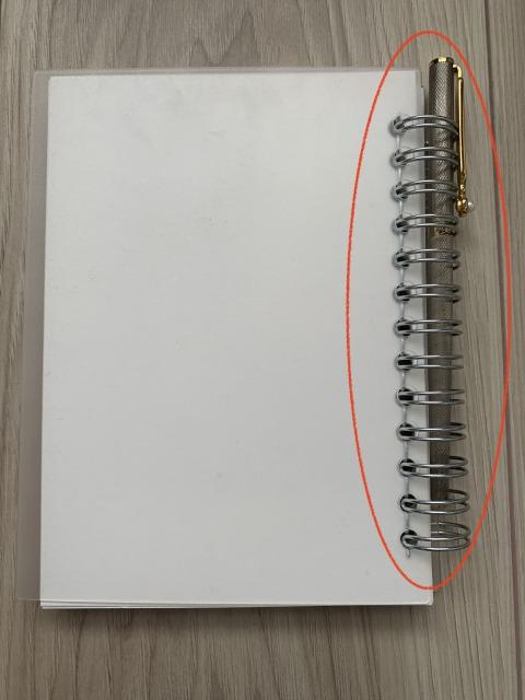 リングノート筆記用具