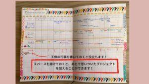 逆算手帳15ヶ月ガントチャート